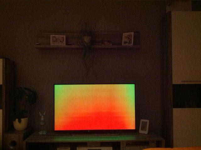 Rechter Bild-Kanal (rot) Bei Normaler Sitzposition