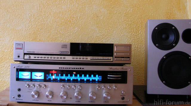 Marantz 2270 Und Toshiba XR-Z50