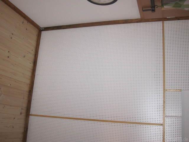 3mm Lochplatte An Der Wand