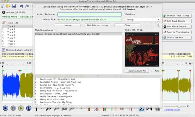 Vinylstudio 13- Tracklisting und Albumcover Suche erflogreich abgeschlossen