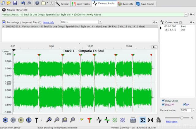 Vinylstudio 17  Cleanup Audio
