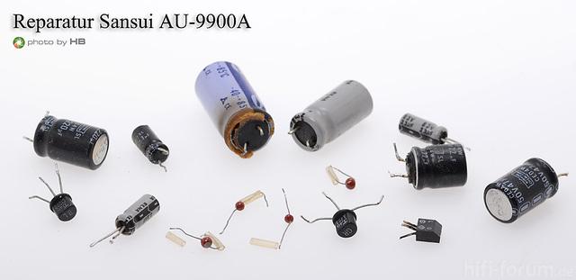 Reparatur AU 9900A
