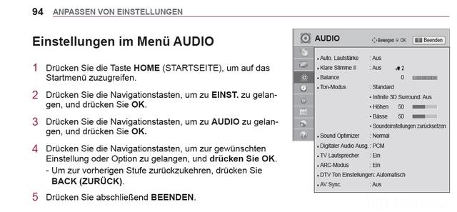 Audiosetup