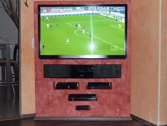 Tv Wand Freistehend