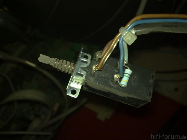 Philips 25GR5711 Schalter