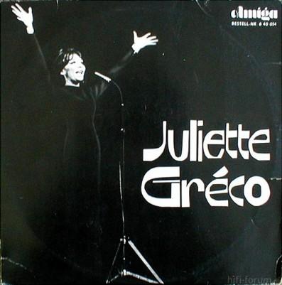 Juliette Greco Juliette Greco(1)