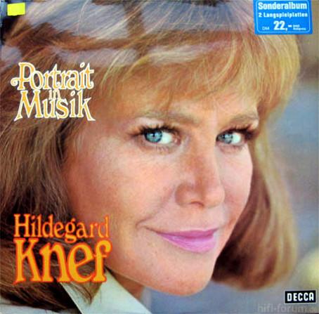 Knef Hildegard Portrait