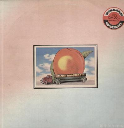 The Allman Brothers Band Eat A Peach(capricorn Records)