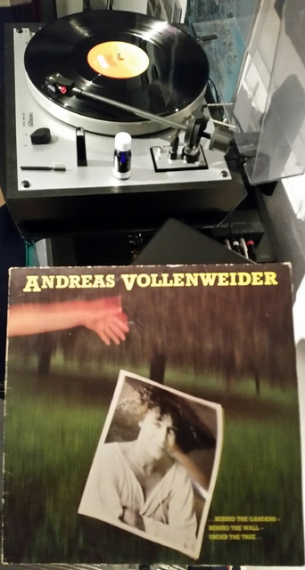 ANDREAS VOLLENWEIDER Behind The Gardens - Behind The Wall - Under The Tree (1981)