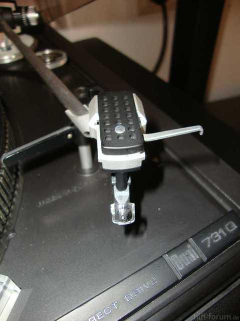 Dual Plattennadel und Tonarm