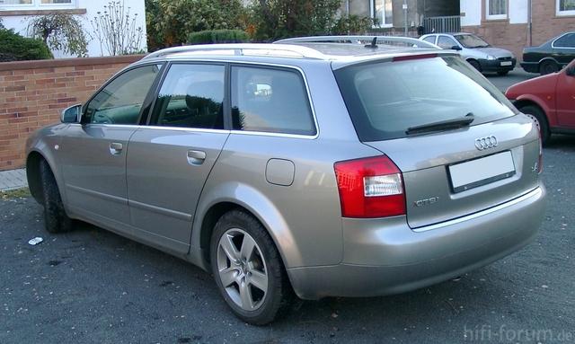 Audi A4 B6 Kombi Rear 20071115