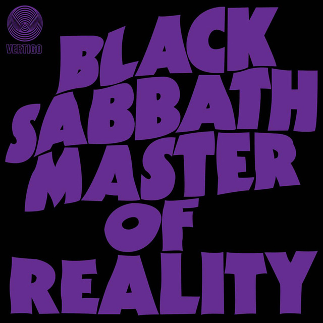 Black Sabbath - Master Of Reality - 800