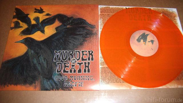 Murder By Death - Good Morning Magpie (orange)
