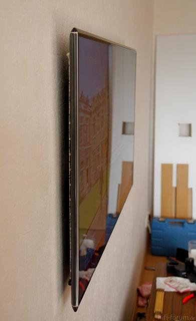 wand f r wandhalterung optimal verputzen samsung hifi forum. Black Bedroom Furniture Sets. Home Design Ideas