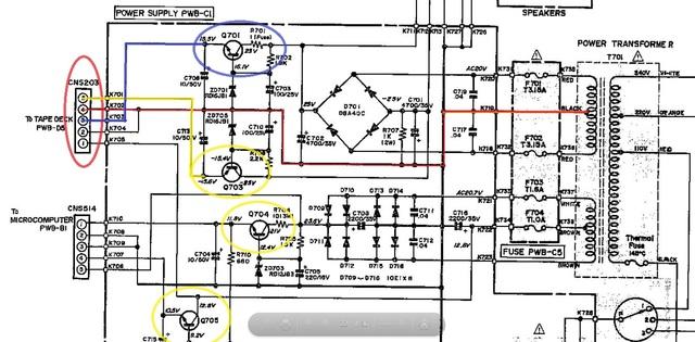 Sharp VZ-3000 Vertikalanlage - Defekt in der Elektrik behoben, Hifi ...