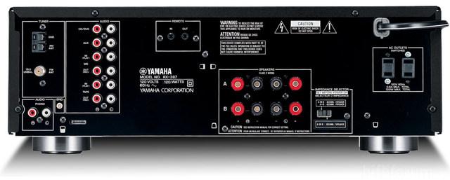 Yamaha Rx397 Rear