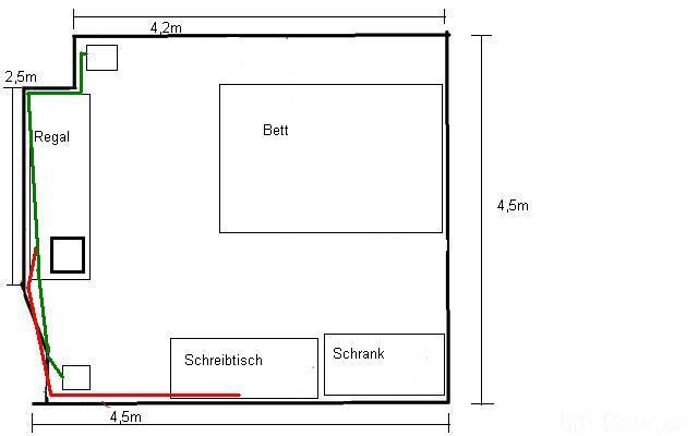 Zimmerquerschnitt 23398