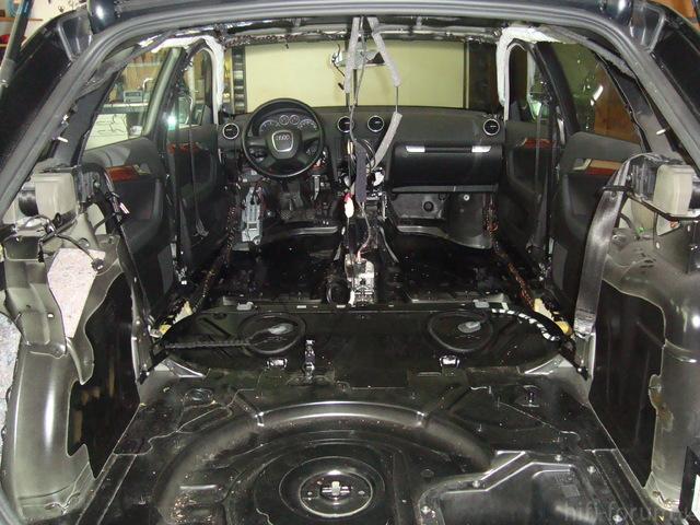 Audi A3 Sportback Zerlegt