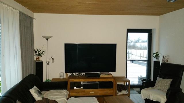 Wohnzimmer Upgrade / Beamer und Leinwand oder Sony 75ZD9 ...