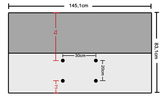 Vesa-Position