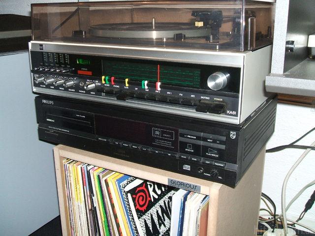 Dual KA 61 Und Philips CD 614