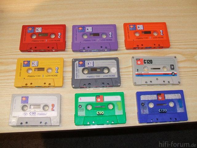 Kassetten (Teil 1)
