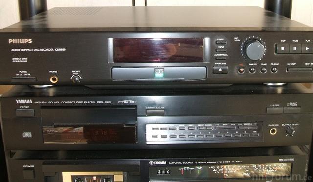 Philips CDR 880 Und Yamaha CDX 890