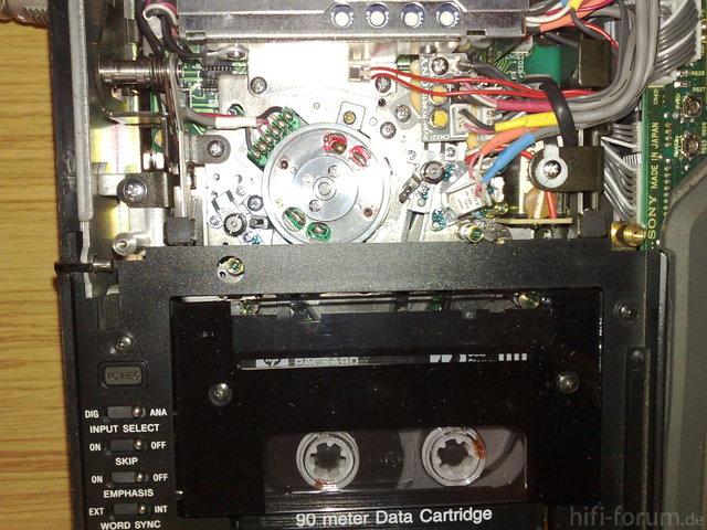 Innenansicht SONY PCM-2000