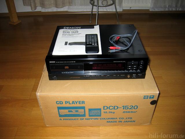 Denon DCD-1520