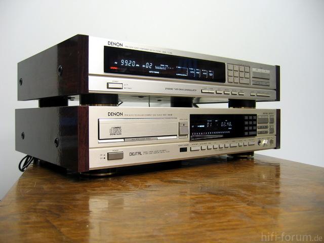 Denon TU800L und DCD-1500II