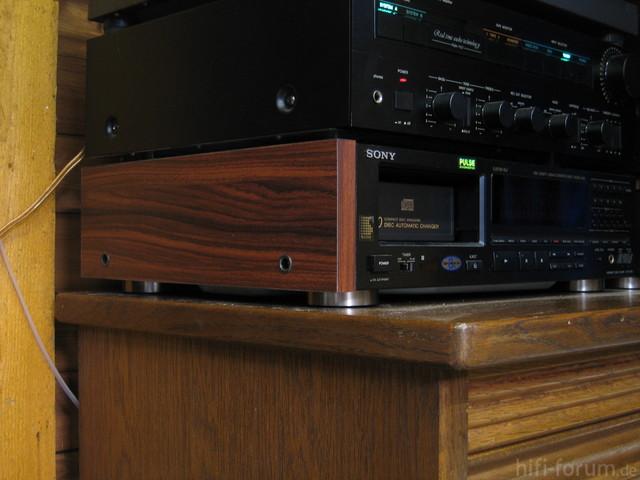 Holzseiten Sony CDP-C910
