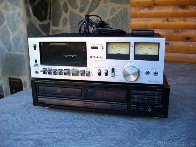 Onkyo DX-6720 Und Technics 615