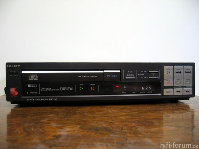 Sony Cdp 102 12750 24328