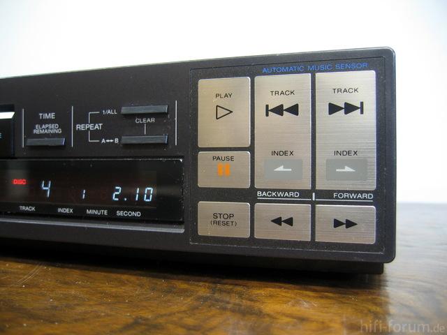 Sony CDP-102 Tasten