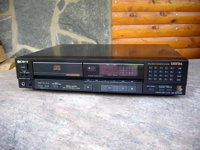 Sony CDP-222ESD