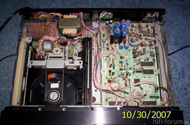 Sony Cdp 302es Innenansicht 24333