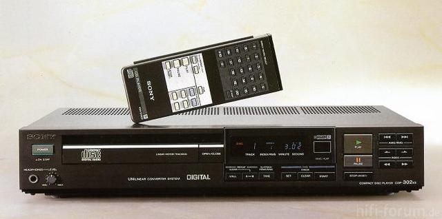 Sony CDP-302ES