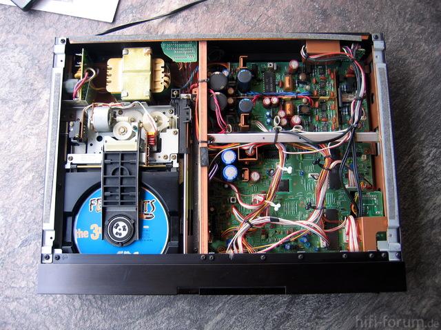 Sony CDP-502ES Innenansicht