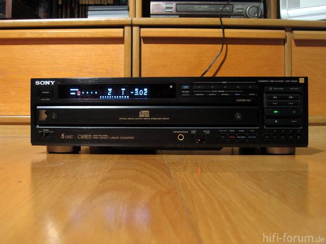 Sony Cdp C85es 45525