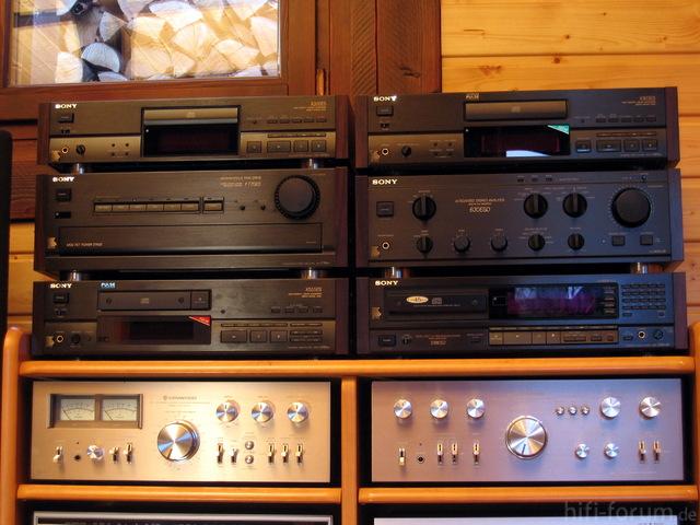 Sony ES-Komponenten