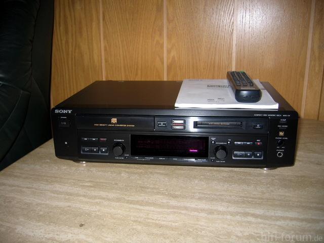 Sony MDX-D4