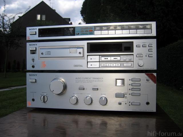 Sony TA-AX500, CDP-501, ST-JX5