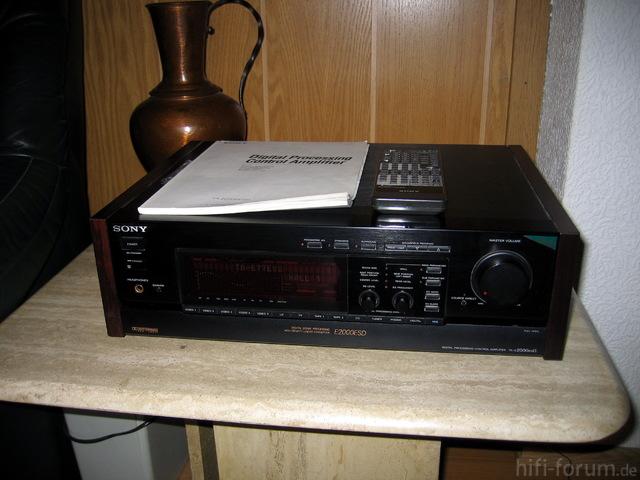 Sony TA-E2000ES