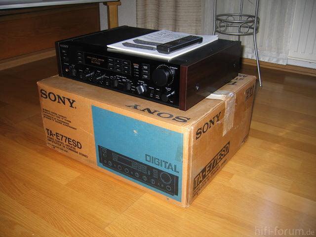 Sony TA-E77ESD