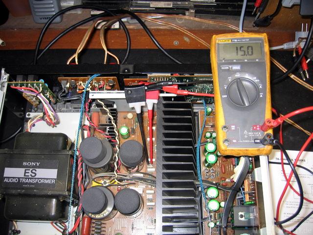 Sony TA-F700ES Abgleich 1