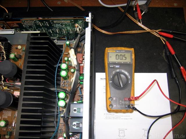 Sony TA-F700ES Abgleich 2