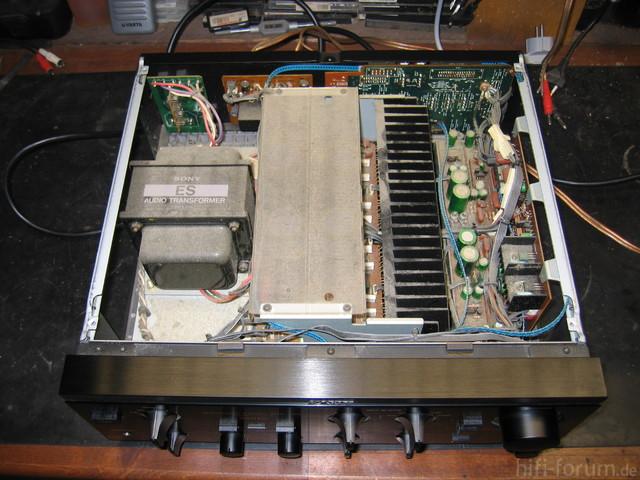 Sony TA-F700ES Reinigung 1