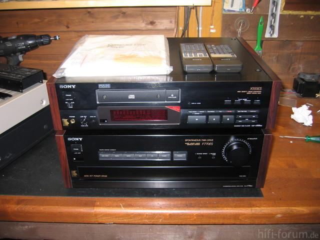 Sony TA-F770ES & CDP-X555ES