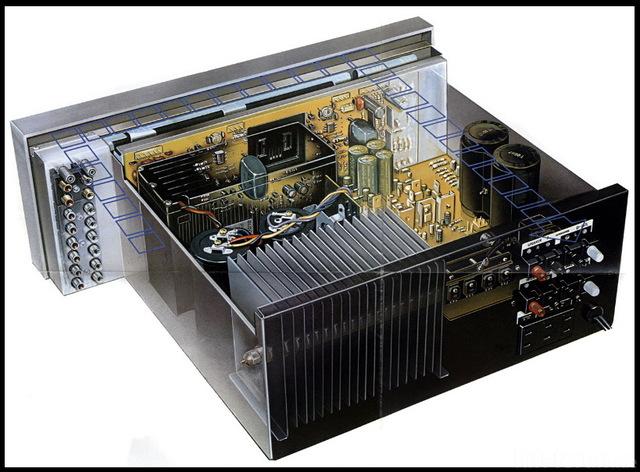 Sony TA-F80 Innenansicht