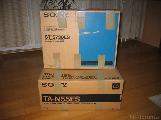 Sony TA-N55ES & ST-S730ES